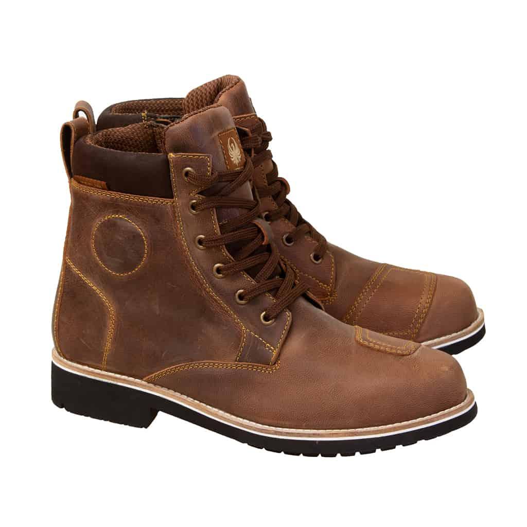 Merlin Ether Waterproof boots in brown