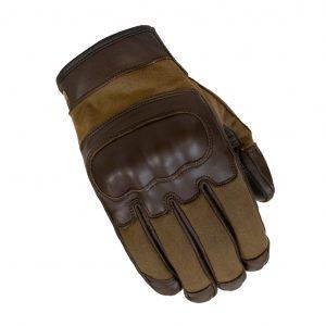 Merlin Glenn motorcycle gloves in olive
