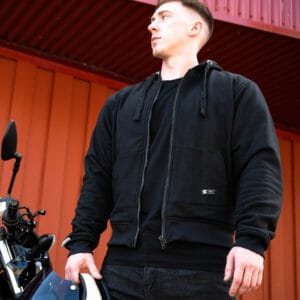 Merlin Hamlin hoodie in black