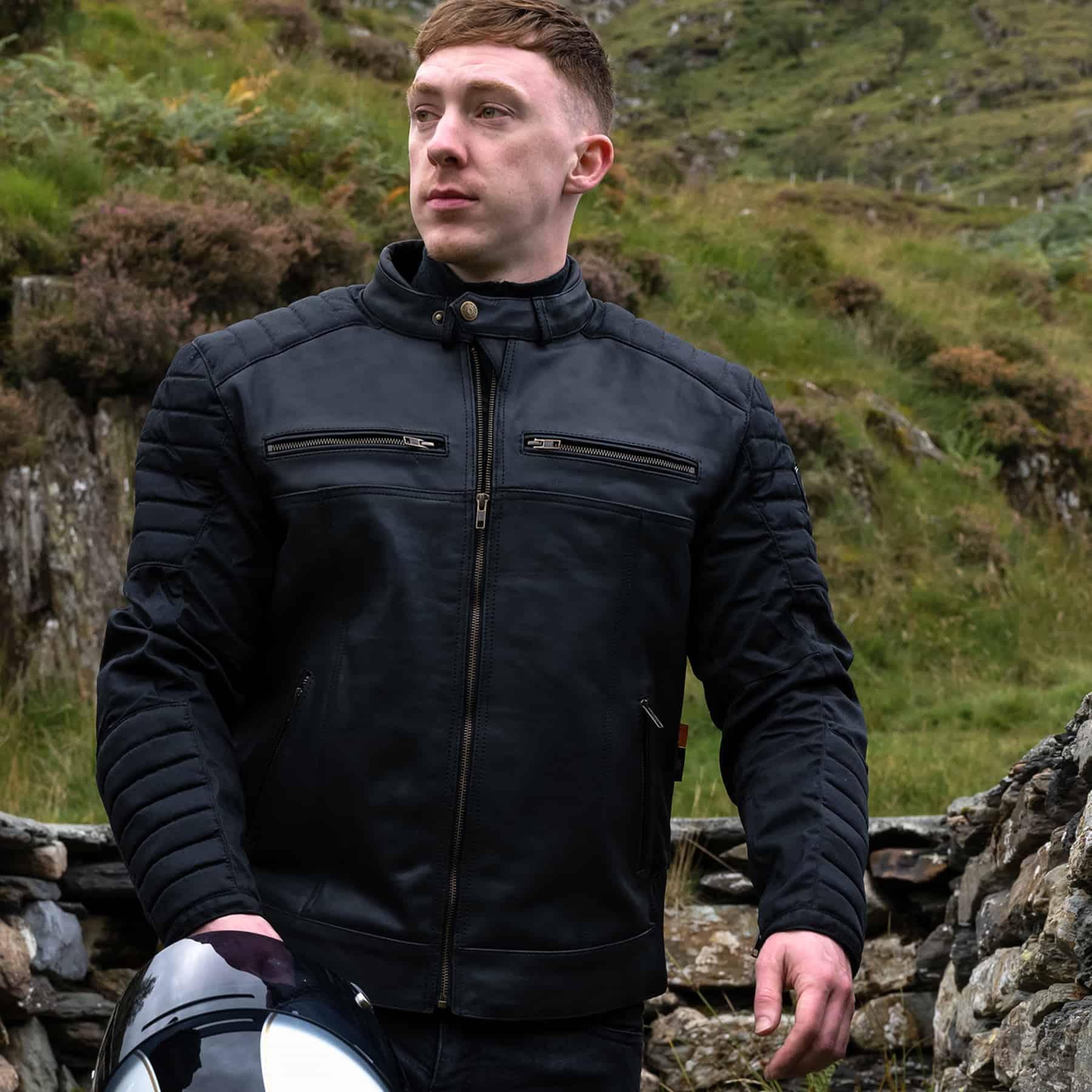 Merlin Ridge Cotec and Leather jacket