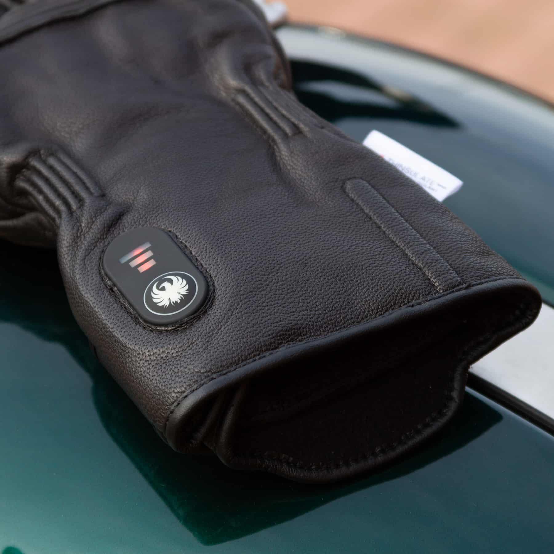 Merlin Minworth Heated motorcycle glove in black