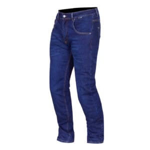 Route One Merlin Duke motorcycle riding jeans in blue